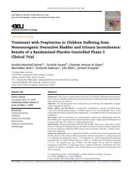 Treatment with Propiverine in Children Suffering from ... - Urosource