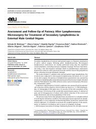 Assessment and Follow-Up of Patency After ... - Urosource