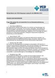 Wahlprüfsteine der VCD-Ortsgruppe Leipzig für die OBM-Wahl 2013 ...