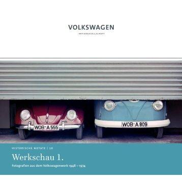 Werkschau 1. - Volkswagen Information