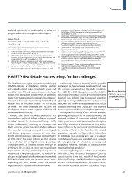 HAART's first decade: success brings further challenges - Ummafrapp