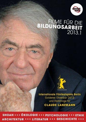 FILME FÜR DIE BILDUNGSARBEIT 2013.1 - bei absolut MEDIEN