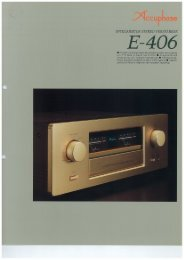 E-406 - Accuphase