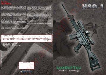 The HSG-1 - ACP-Waffen