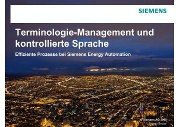 Terminologie-Management und kontrollierte Sprache - Acrolinx
