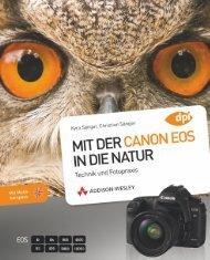 Mit der CANON EOS in die Natur - ISBN 978-3 ... - Addison-Wesley