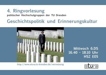 Broschüre - StuRa TU Dresden