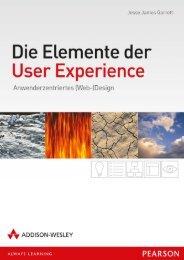 Die Elemente der User Experience - *978-3-8273 ... - Addison-Wesley