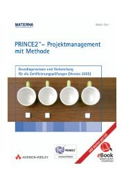 PRINCE2 Projektmanagement mit Methode ... - Addison-Wesley