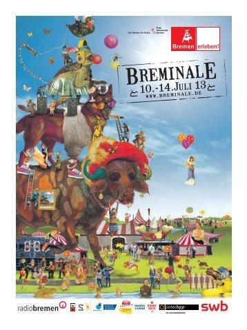 Breminale-Programmheft 2013 - ADFC Bremen