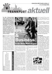 Bike & Business - ADFC Frankfurt