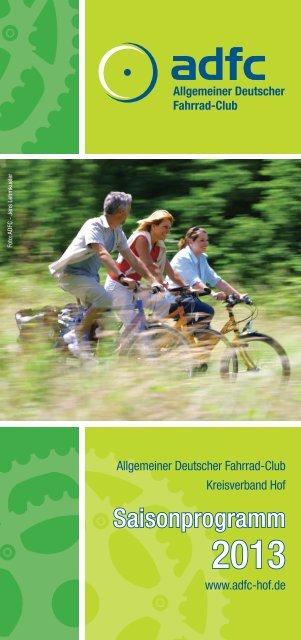 Programm 2013 - ADFC-Hof