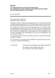 Bericht - admin.ch