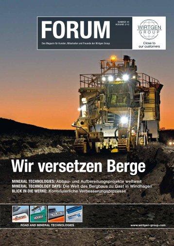 FORUM - Advanced Mining Solutions
