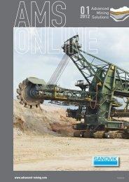 AMS-Online Ausgabe 01/2012 - Advanced Mining