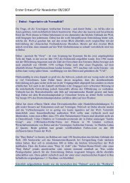 Erster Entwurf für Newsletter 09/2007 - AECON GmbH