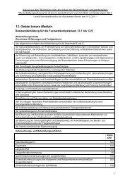 13. Gebiet Innere Medizin - Ärztekammer Bremen