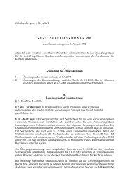 Gebührenfrei gem. § 110 ASVG ZUSATZ Ü BEREINKOMMEN 2007 ...
