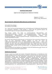 Neues Gesetz für ästhetische Behandlungen und Operationen