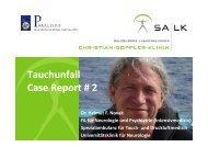 Tauchunfall Case Report # 2