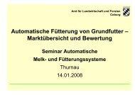 Automatische Fütterungssysteme - Amt für Ernährung ...