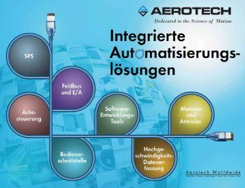 Dedicated to the Science of Motion - Aerotech Inc.