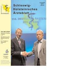 Schleswig-Holsteinisches Ärzteblatt 2009/06