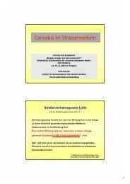 Cannabis im Strassenverkehr - Landesärztekammer Baden ...