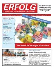 Erfolg_Ausgabe Nr. 2 - März 2013