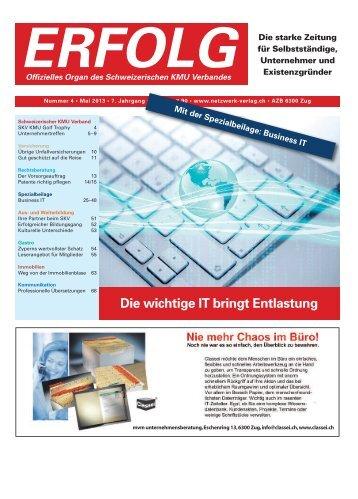 Erfolg_Ausgabe Nr. 4 - Mai 2013