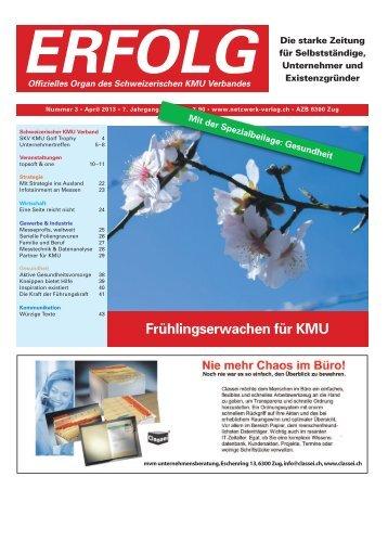 Erfolg_Ausgabe Nr. 3 - April 2013
