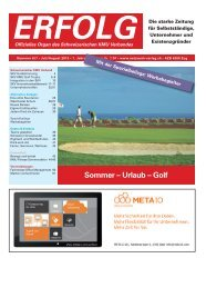 Erfolg_Ausgabe Nr. 6/7 - Juli/August  2013