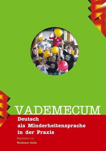 Vademecum (DE) [.pdf] - Agentur für Erwachsenen- und Weiterbildung