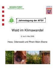 Wald im Klimawandel - Arbeitsgemeinschaft Forstliche Standorts ...