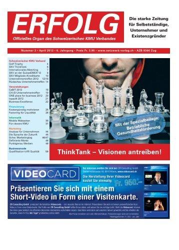 Erfolg_Ausgabe Nr. 3 - April 2012