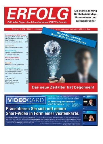Erfolg_Ausgabe Nr. 2 - März 2012