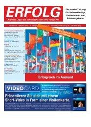 Erfolg_Ausgabe Nr. 9 - Oktober 2012