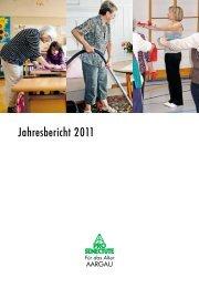 Jahresbericht 2011 - Pro Senectute - Pro Senectute Schweiz