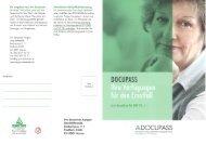 Ein Angebot von Pro Senectute Persönliche DOCUPASS-Beratung ...