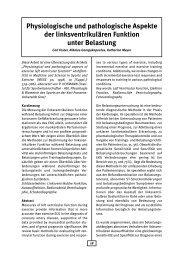 Physiologische und pathologische Aspekte der ... - AGAKAR