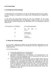 § 19 Ortszuschlag A. Grundlage des Ortszuschlages (1 ...