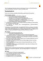 Sozialarbeiter/in Stadt Oldenburg