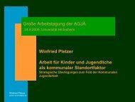 Praesentation Pletzer - Agjä