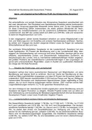 Botschaft der Bundesrepublik Deutschland, Pretoria 30. August ...
