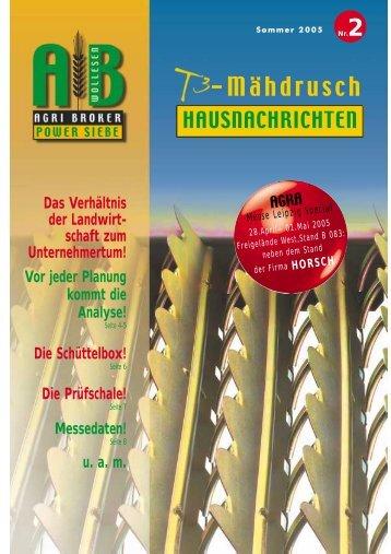-Mähdrusch - Agri Broker eK