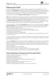 Fütterung der Ferkel - agrigate.ch