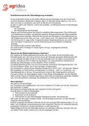 Merkblatt Getreidelagerung - agrigate.ch
