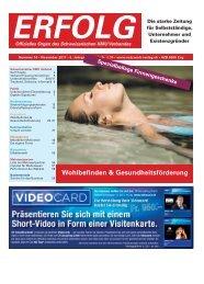 Erfolg_Ausgabe Nr. 10 - November 2011