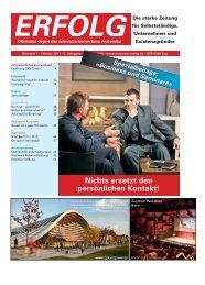 Erfolg_Ausgabe Nr. 1 - Februar 2011