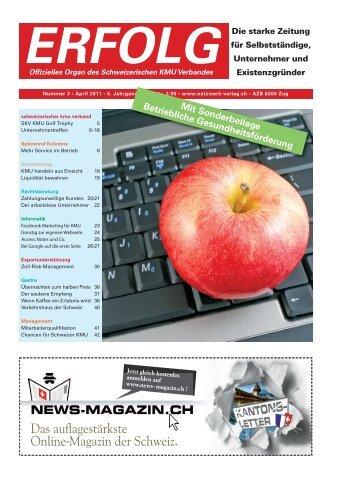 Erfolg_Ausgabe Nr. 3 - April 2011